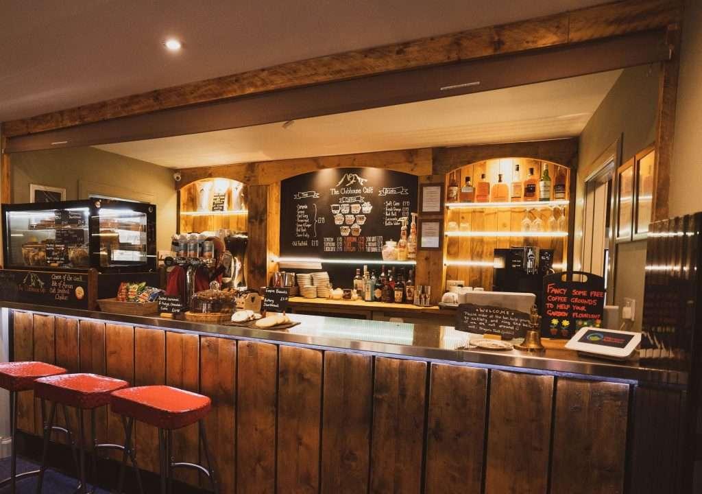 A cozy café/bar in Glencoe