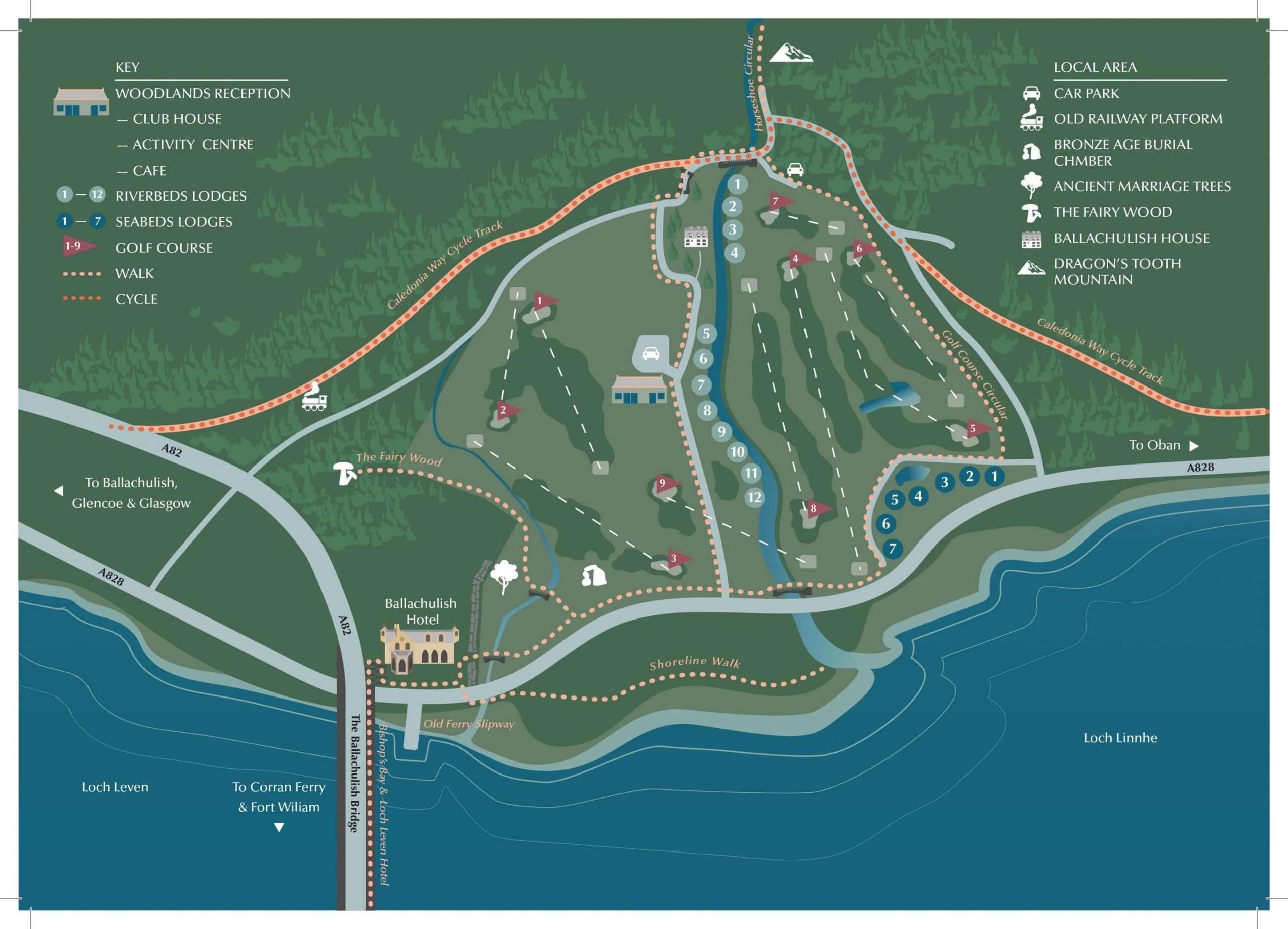 Woodlands Glencoe Estate Map scaled scaled